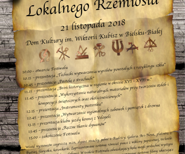 Festiwal Lokalnego Rzemiosła